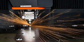 Reparto taglio laser e troncatura RF group SPA